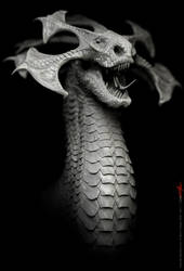 Dragon design 45b by damir-g-martin