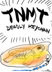 TNMT Deadly keychain title page by damir-g-martin