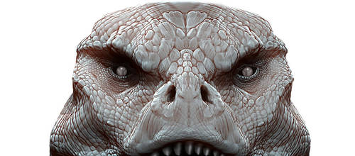 DinoMonster Ty redesign head study by damir-g-martin