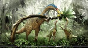 Therizinosaurus by damir-g-martin