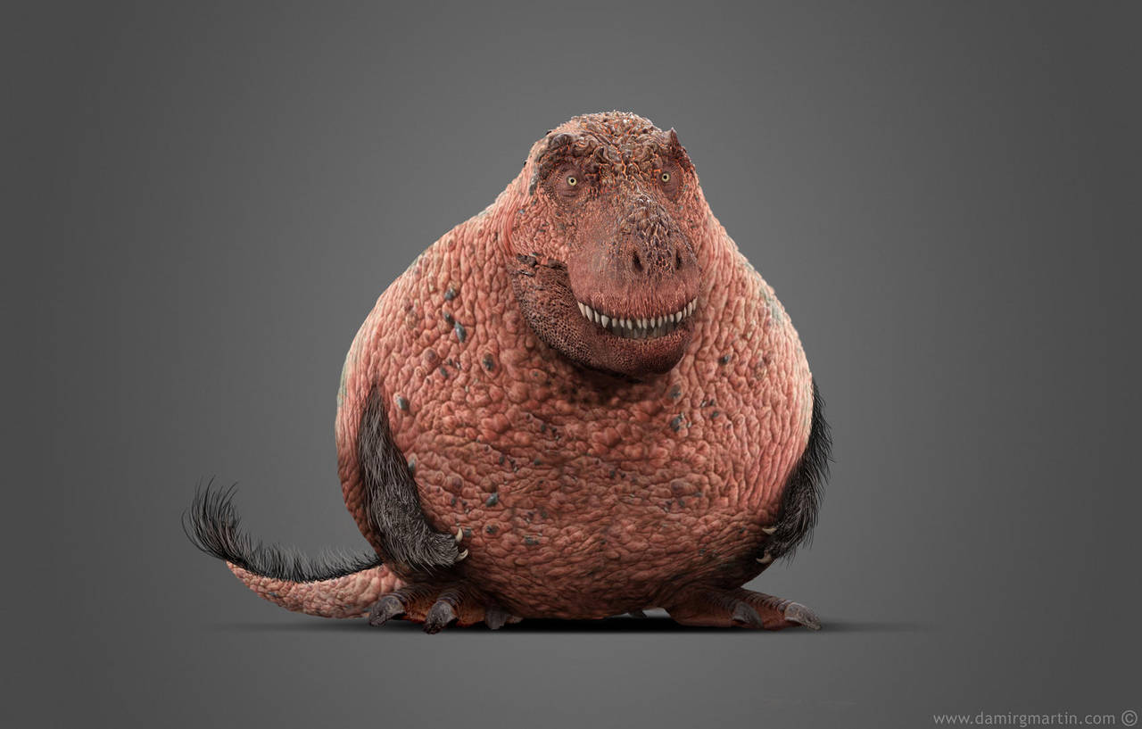 Basal Tyrannosaurus by damir-g-martin