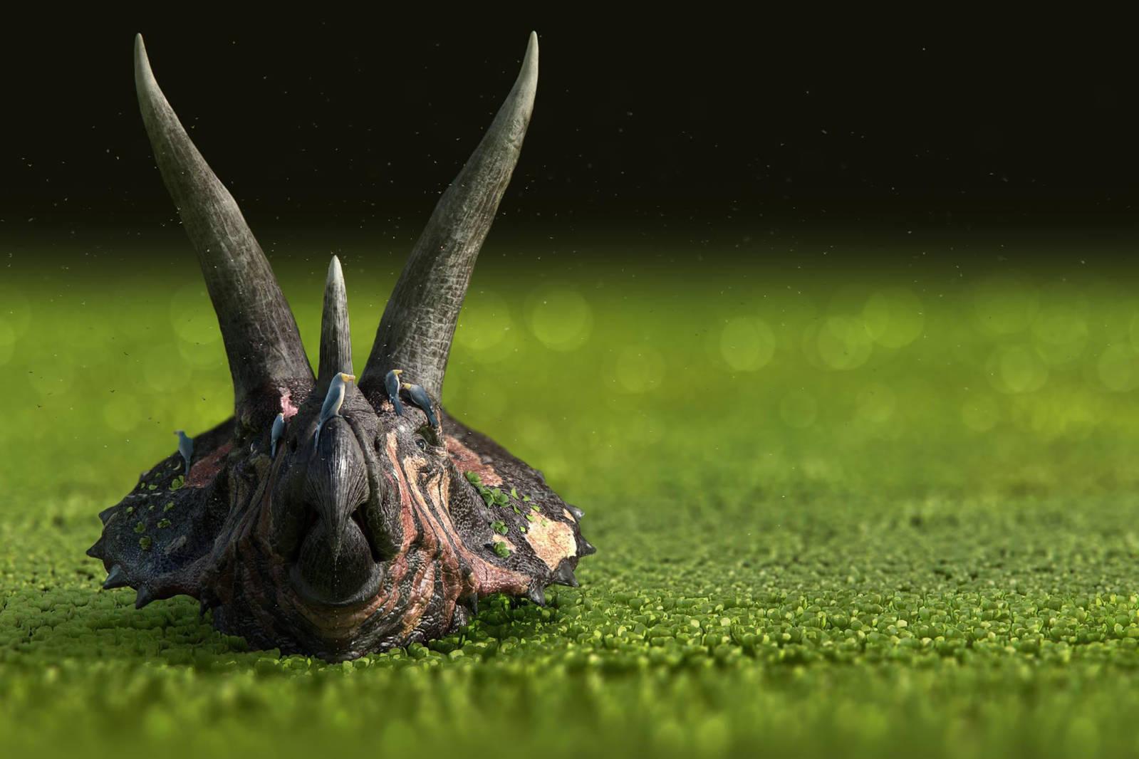 Dinosaurs In The Wild by damir-g-martin