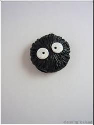Suet ball (My Neighbor Totoro - Ghibli) by RedAliceCreations