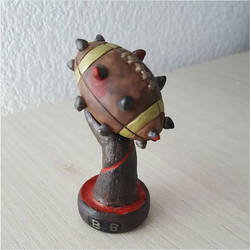 Blood bowl trophy by RedAliceCreations