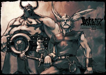 Asterix Tribute - Welcome in Gaul by Kanthesis