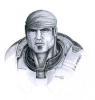 Gears of War - Marcus Fenix by BlkBullet23