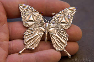 Silver-Butterfly-4 by INDRIKoff