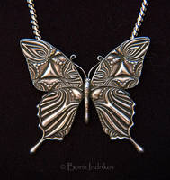 Silver Butterfly by INDRIKoff