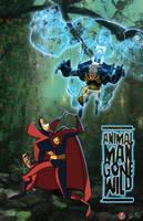 Animal Man vs. Psycho Pirate by AndrewJHarmon