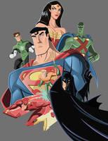 Superfriends - Heroes by AndrewJHarmon