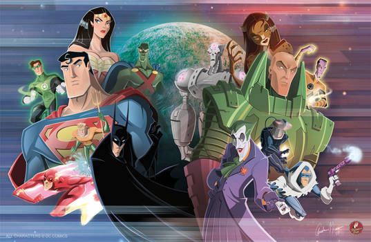 Challenge of the Superfriends by AndrewJHarmon