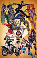 DC Women by AndrewJHarmon