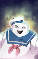 Mr. Stay Puft by AndrewJHarmon