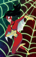 Spider-Woman by AndrewJHarmon