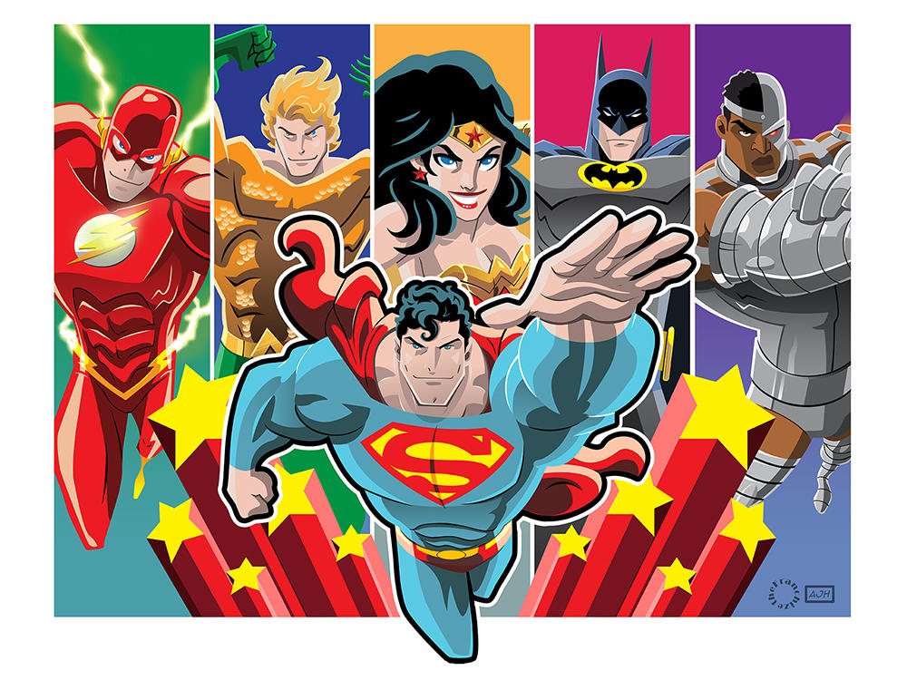 The Super Friends by AndrewJHarmon
