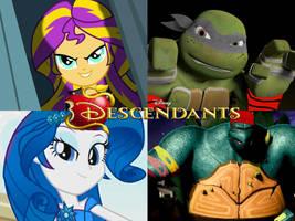 TMNT/MLP: Descendants by NinjaTurtleFangirl