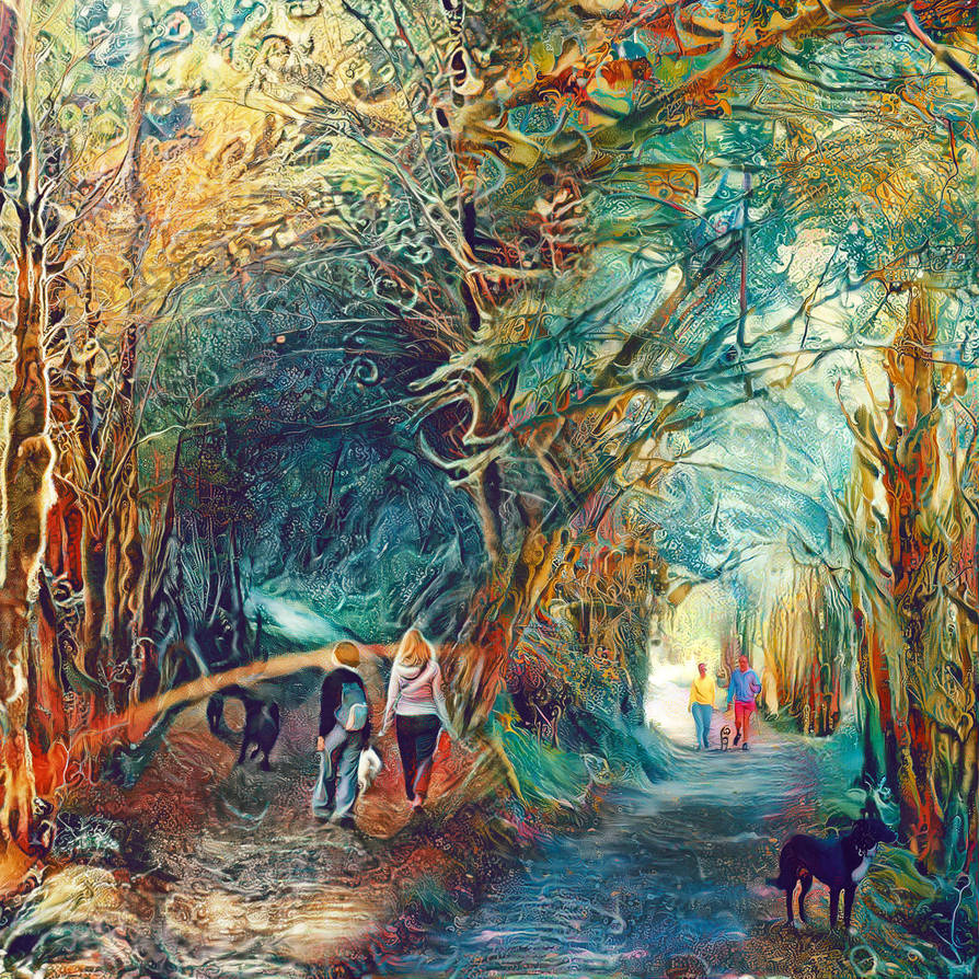 Neural Style Transfer - Mix by atreyu64