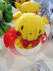 Pikachu Bozu by dancedancehappyfeet