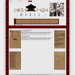Webdesign Destination Manga by Demandread31
