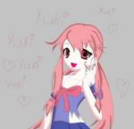Future Diary: Gasai Yuno by kasumaky