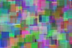Psychedelic mosaic square by toshiyuki83