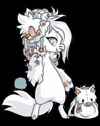 #1456 Mythical BB - Wolf Elf by Momoless