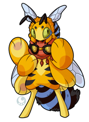 #264 Amazon Bavom - Blue-Banded Bee by Momoless