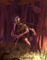 Forest Goblin by GooSoldier