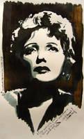 Edith Piaf by LizDouceFolie