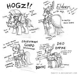 Ponyhammer Races by Sanity-X