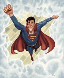 Superman Flight by DevonneAmos