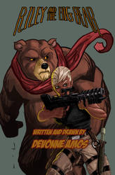 Riley and The Big Bear #1 by DevonneAmos