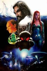 Aquaman by DevonneAmos