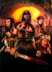 Conan The Barbarian by DevonneAmos