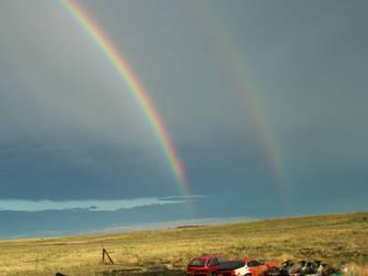 Double Rainbow Double Gold by ClownFreak88