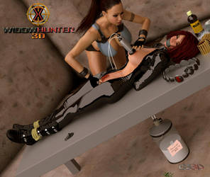 Black Widow vs. Tomb Raider - Part 5 (Uncensored) by WidowHunter3D