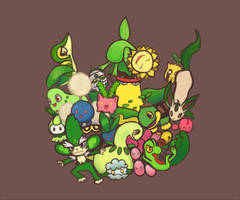 Grass Types by CJsux