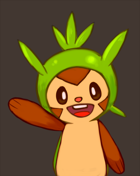 Chespin Chespin by CJsux