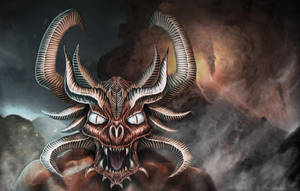 Demon study by 9gagerr