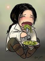Ezio, Comfort Food by coloristjen