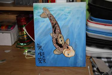 Koi painting by VULGARlouis