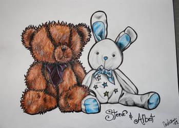 Steeve and Albert by VULGARlouis