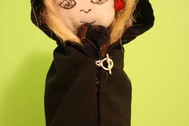Luna Lovegood with cloak by VULGARlouis