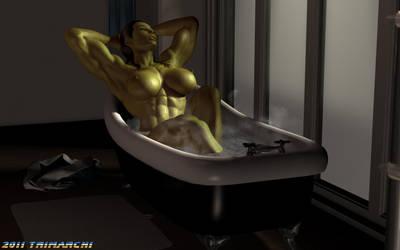 Bath Time by artguyjoe