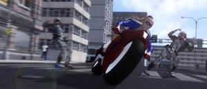 Wringing out that Ride by artguyjoe