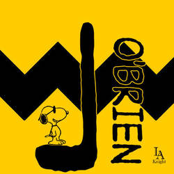L O'Brien Logo - Charlie Brown Style by LAKnight89