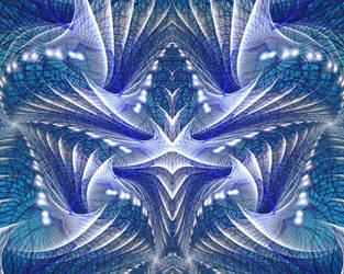 Blue Geometry by Craig-Larsen