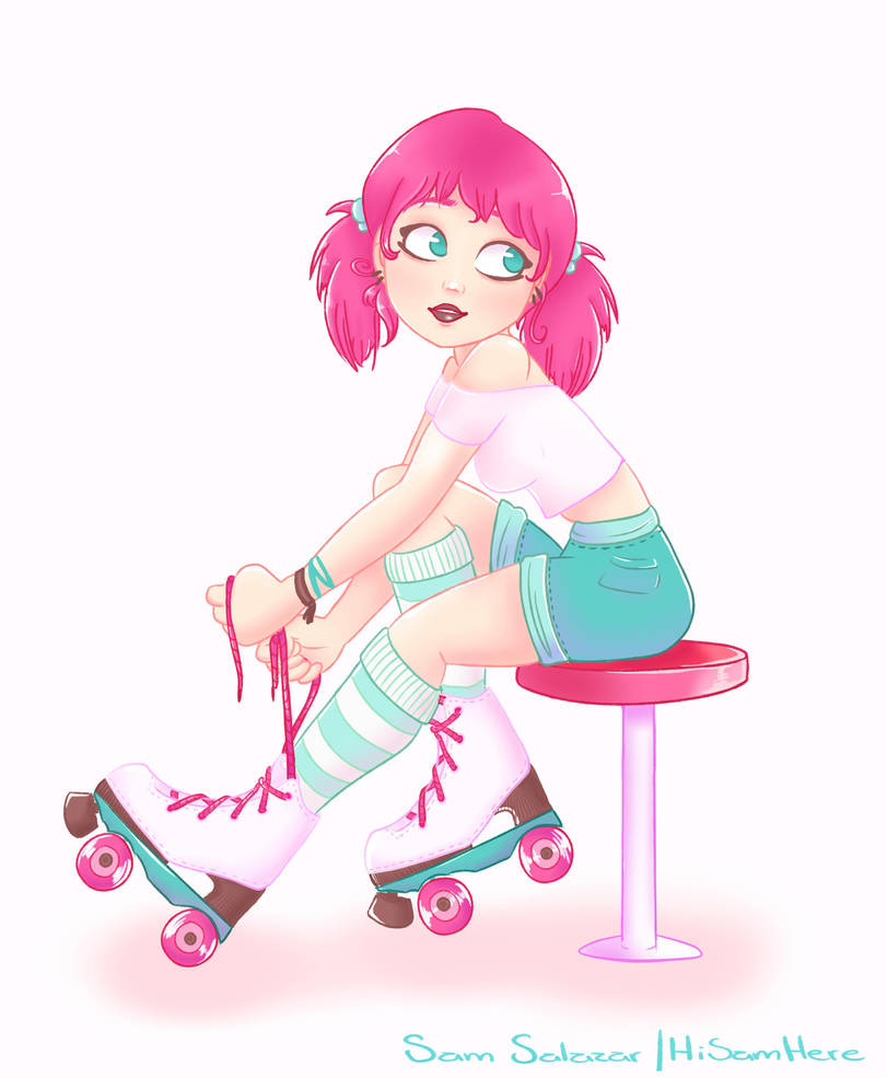 Roller Disco by HiSamHere