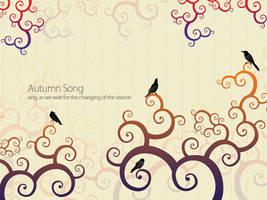 Autumn Song WP by mujiri