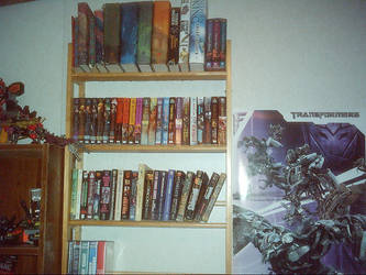 my books by headlessknight